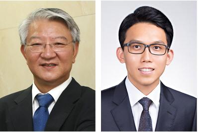 왼쪽부터.이상엽 특훈교수, 김현욱 교수(사진:KAIST)
